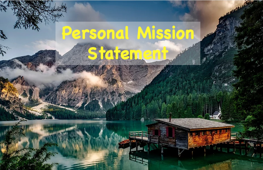 'Your Personal Mission Statement'