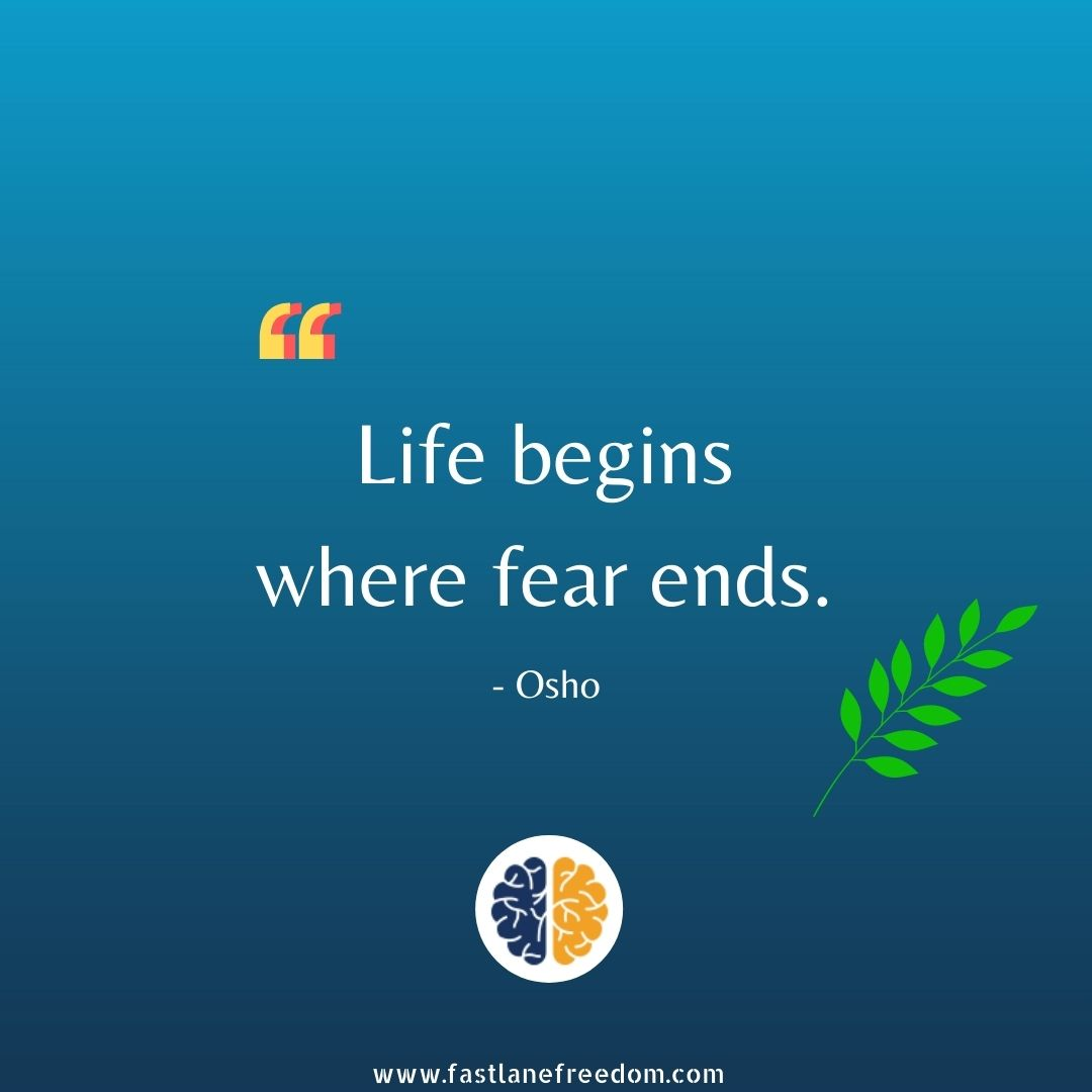 Osho quotes on fear